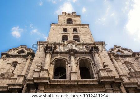 Kerk oude Havanna 2016 San Francisco Cuba Stockfoto © romitasromala