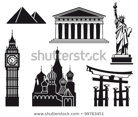 Statue liberté Big Ben christ tour Photo stock © robuart