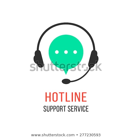 Support service concept. Technical support assistants in office. Flat vector illustration. Stock photo © makyzz