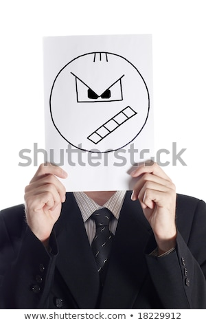 Angry Cartoon Joke Book Stock photo © cthoman