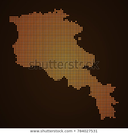 Logotipo Armênia mapa vetor ícone projeto Foto stock © blaskorizov