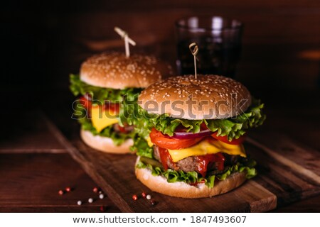 blt · sandwich · vers · eigengemaakt · spek - stockfoto © dash