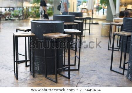 нефть баррель комнату черный стены 3d визуализации Сток-фото © make