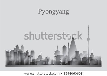 силуэта · город · путешествия · Skyline · архитектура - Сток-фото © Ray_of_Light