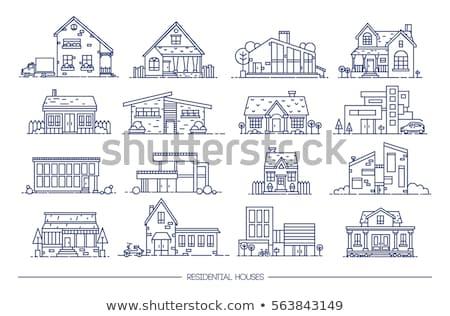 verschillend · gebouw · ontwerpen · witte · bouw · ontwerp - stockfoto © colematt