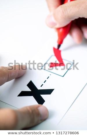 Terceiro sexo jovem caucasiano pessoa Foto stock © nito