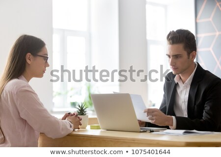 Hiring applicant Stock photo © pressmaster