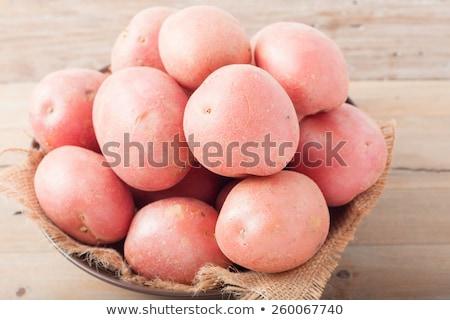 bebê · batatas · rústico · madeira - foto stock © nito