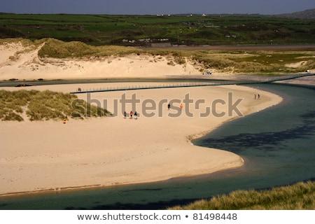 пляж · пробка · Ирландия · морем · путешествия · ландшафты - Сток-фото © phbcz