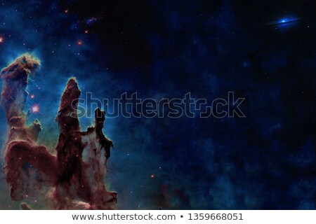 Pillars of Creation. Eagle Nebula in the constellation Serpens. Stock photo © NASA_images