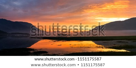 Loch leven Sunset Stock photo © chris2766