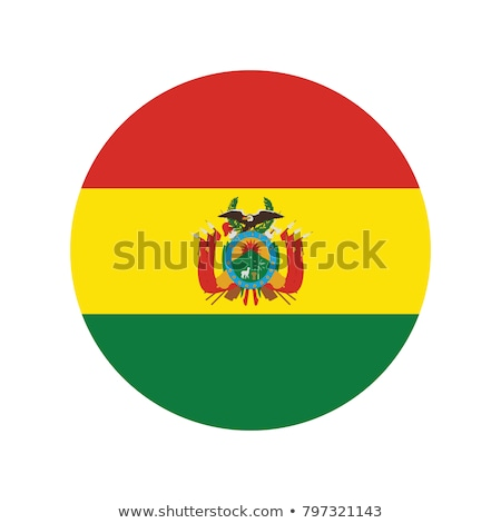 Боливия флаг белый дизайна знак волна Сток-фото © butenkow