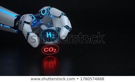 Robot Hand CO2 H2 Stock photo © limbi007