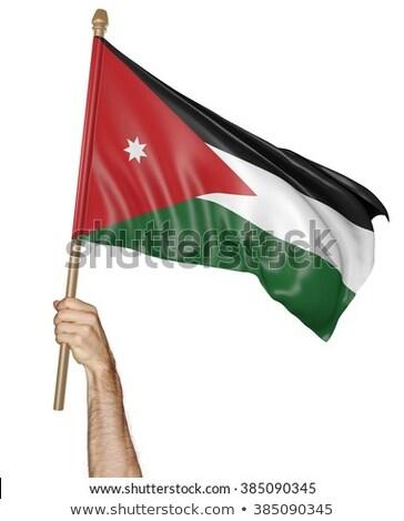 政治的 フラグ ヨルダン 世界 国 ストックフォト © perysty