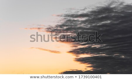 Beautiful volumetric cumulus clouds in sky Stock photo © pzaxe