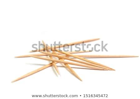 toothpicks isolated Stock photo © shutswis