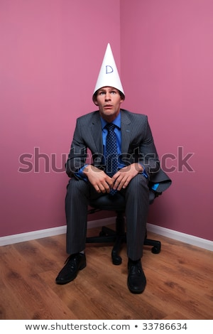Dunce cap frustration Stock photo © sumners