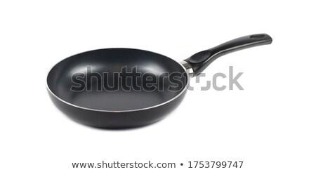 panela · isolado · branco · comida · fundo · metal - foto stock © ozaiachin