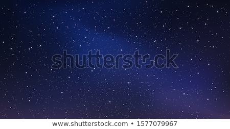Stars Night Sky banner, vector illustration Stock photo © carodi