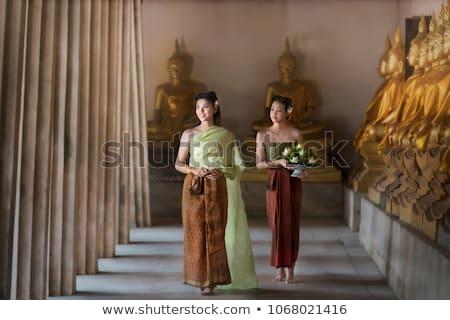 Woman wearing traditional dress Stock photo © photography33