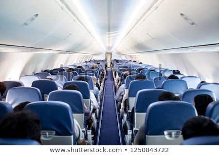 Interiors of an airplane Stock photo © bmonteny