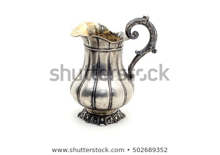 Old metal jug Stock photo © Taigi