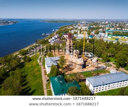 Turísticos complejo bancos mar muerto cielo agua Foto stock © OleksandrO