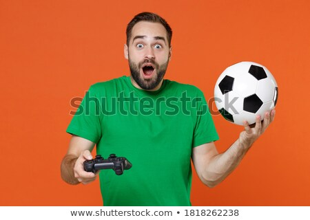 goals controller on black control console stock photo © tashatuvango