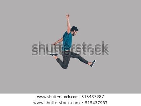 jumping man stock photo © sapegina