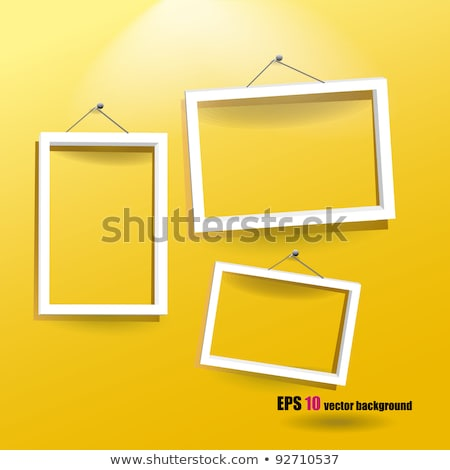 photo frame with lights Stock photo © SArts