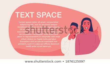 dois · mídia · banners · espaço · texto · vetor - foto stock © rastudio