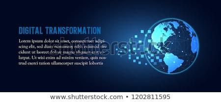 Bitcoin Disruptive Technology Stock photo © Lightsource
