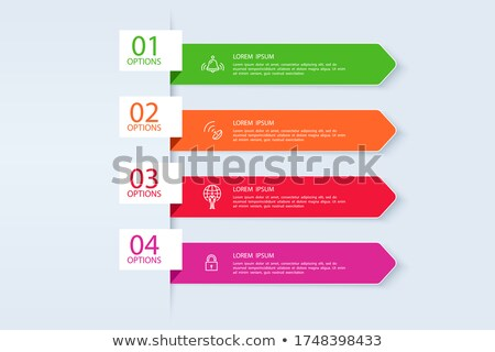 Create Business Proposal, Website with Text Info Stock photo © robuart