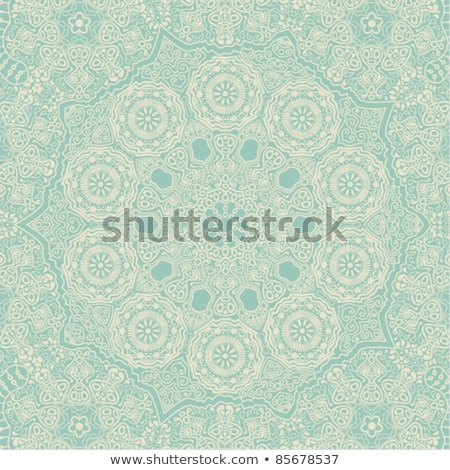 Mandala pattern design background in many colors Stock photo © bluering