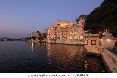 Cidade palácio noite ver Índia famoso Foto stock © dmitry_rukhlenko