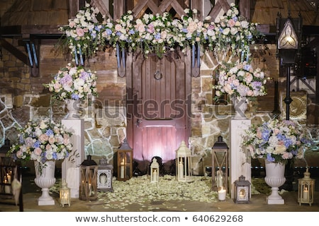 Mooie huwelijksceremonie ander hemel Stockfoto © ruslanshramko
