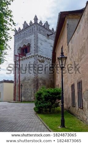 Bel toren Slowakije een mooie gebouw Stockfoto © borisb17