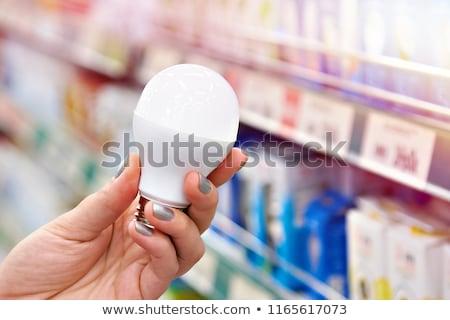 Um lâmpada isolado branco ver Foto stock © boroda