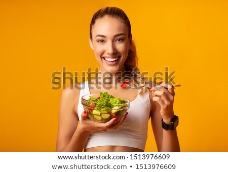 Fit and slender. Stock photo © lithian