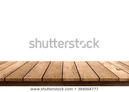 wooden table isolated Stock photo © shutswis