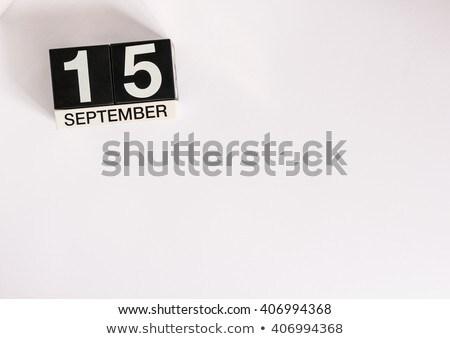 15th September Stock photo © Oakozhan