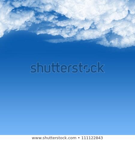 Cumulus clouds  sky under blue sky Stock photo © lunamarina