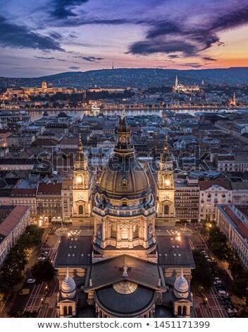 Boedapest Hongarije visser hemel Stockfoto © borisb17