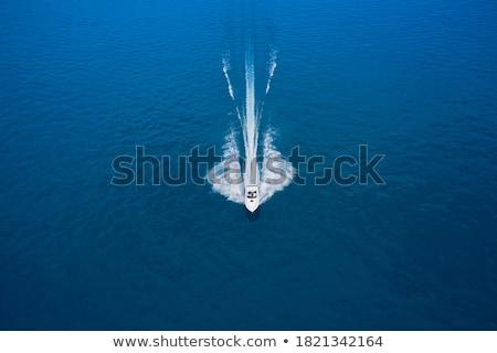 Csónak mozog tenger dél Thaiföld természet Stock fotó © Witthaya