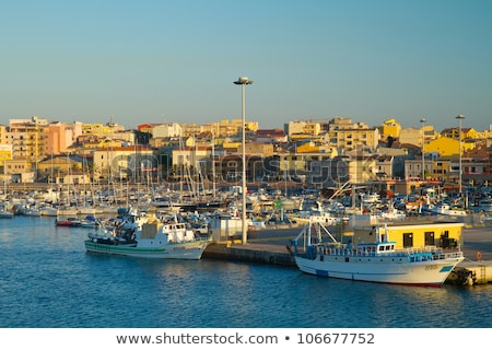 harbor in Porto Torres Stock photo © Antonio-S