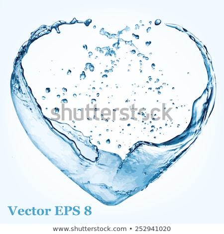 insan · kalp · ritim · güzel · parlak · dizayn - stok fotoğraf © beholdereye