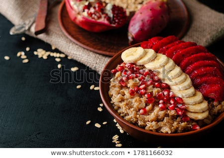 cleaned pomegranate seeds stock photo © lidante