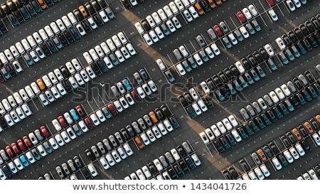 vista · coche · nuevo · sala · de · exposición · coche · menor - foto stock © is2