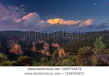 Views across to Norths Lookout Katoomba Stock photo © lovleah