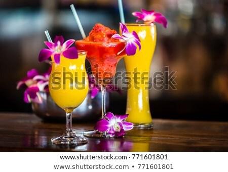 fresco · orquídeas · flores · branco · isolado · flor - foto stock © barbaraneveu